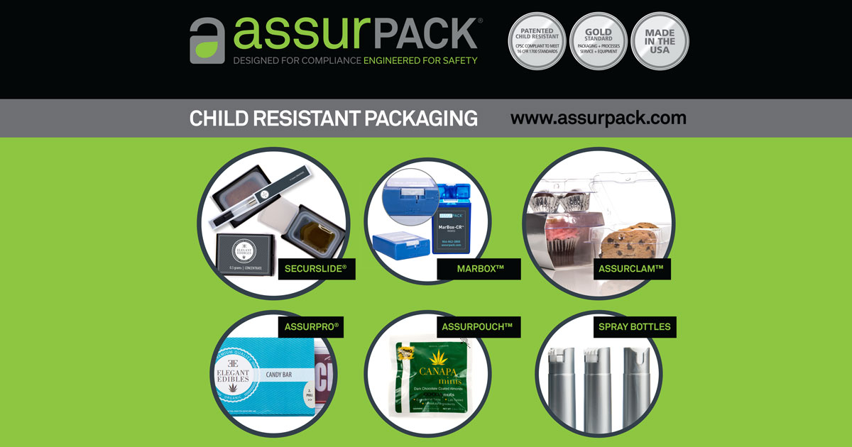 AssurPACK - Compliant Child-Resistant Packaging