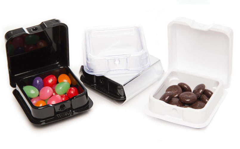 AssurClam® - great for edible packaging, baked goods, vape kits, and more!